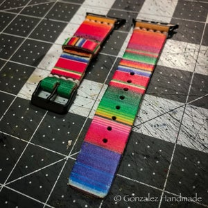 Image of 38/40 or 42/44 Serape Apple Watch Bands