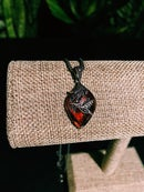 Image 4 of VINTAGE RED NECKLACE