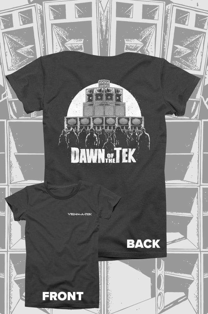 Image of Vienn_a_Tek Dawn of the Tek - T-Shirt