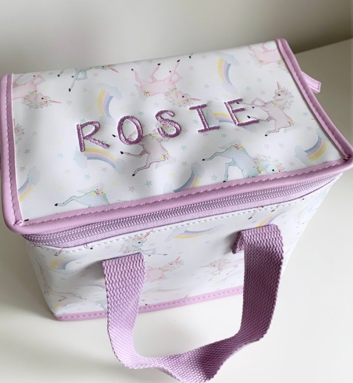 Image of Unicorn Lunchbox - CAN BE PERSONALISED