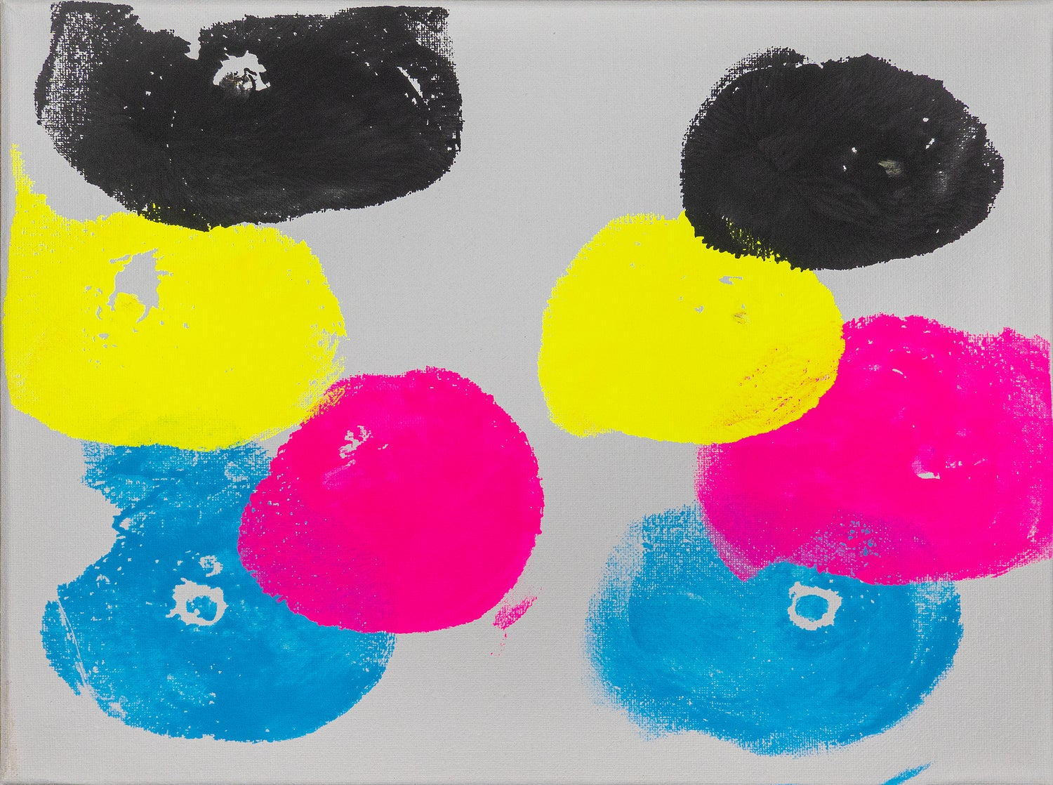 Image of BREAST PAINTING 'CMYK'