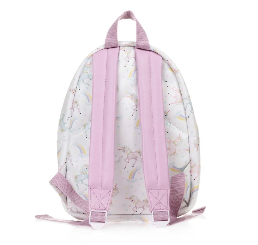 "Image of PERSONALISED UNICORN ""BUNDLE"" - BACKPACK, BOW BAG & LUNCBOX"
