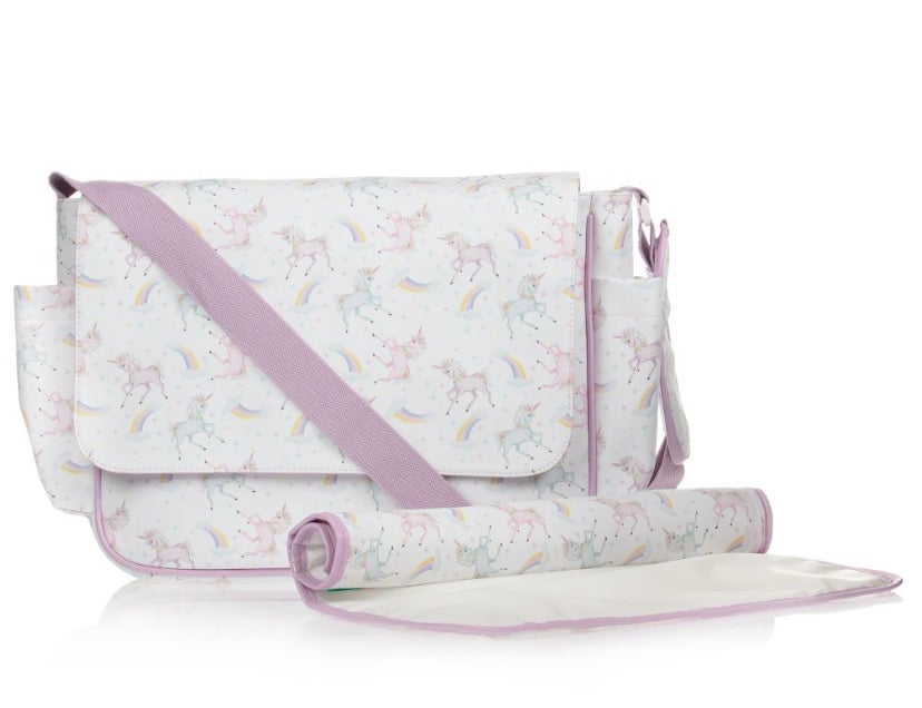 Image of UNICORN CHANGING BAG - Can be personalised.
