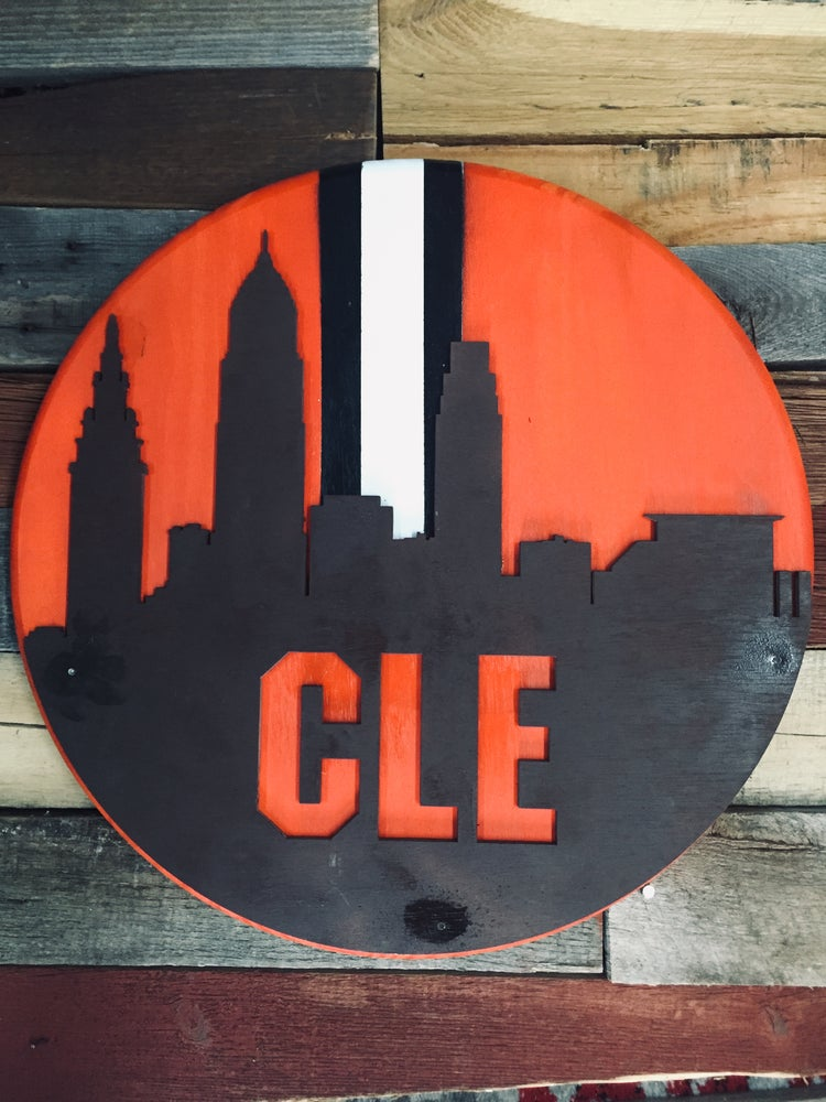 Image of CLE Browns Skyline