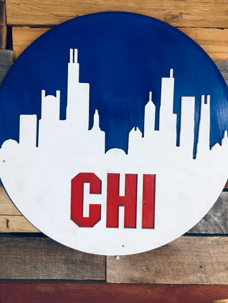 Image of Chicago all weather Skyline