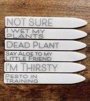 Image of Acrylic Plant Markers