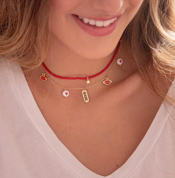 Image of Babe Necklace