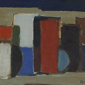Image of Mid 20thC , Oil Painting, Still Life, Lennart Rosensohn, (1918-1994)