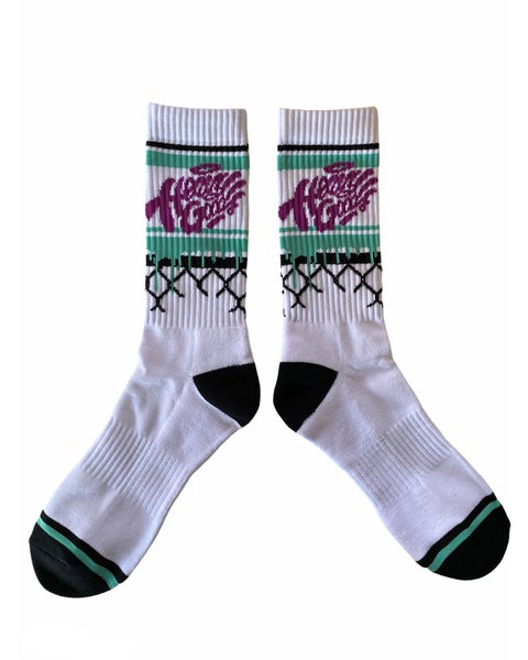 Image of Heavy Goods Chain Link Socks