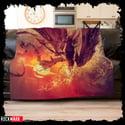 """Evergrey """"Escape of The Phoenix"""" Cozy Blanket"""
