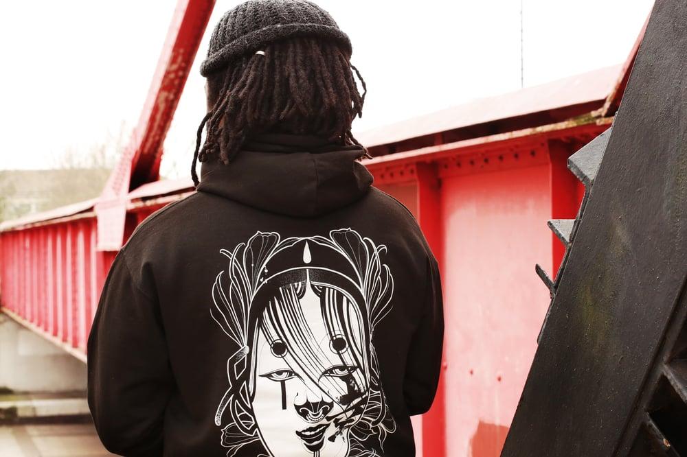 Image of NOH HOODIE - BLACK