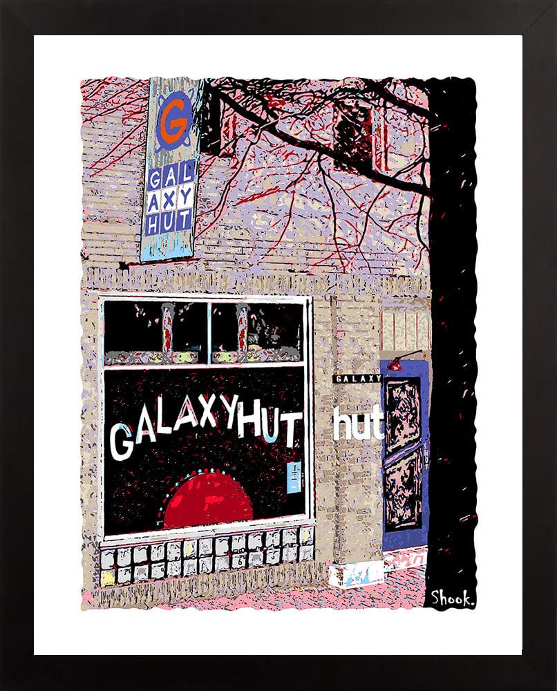Galaxy Hut Arlington VA Giclée Art Print (Multi-size options)
