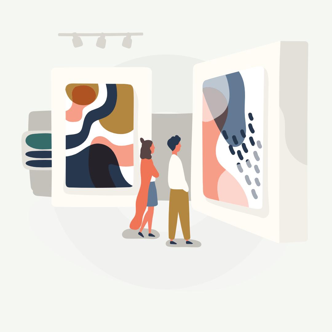 Image of Gestión de galerías de arte
