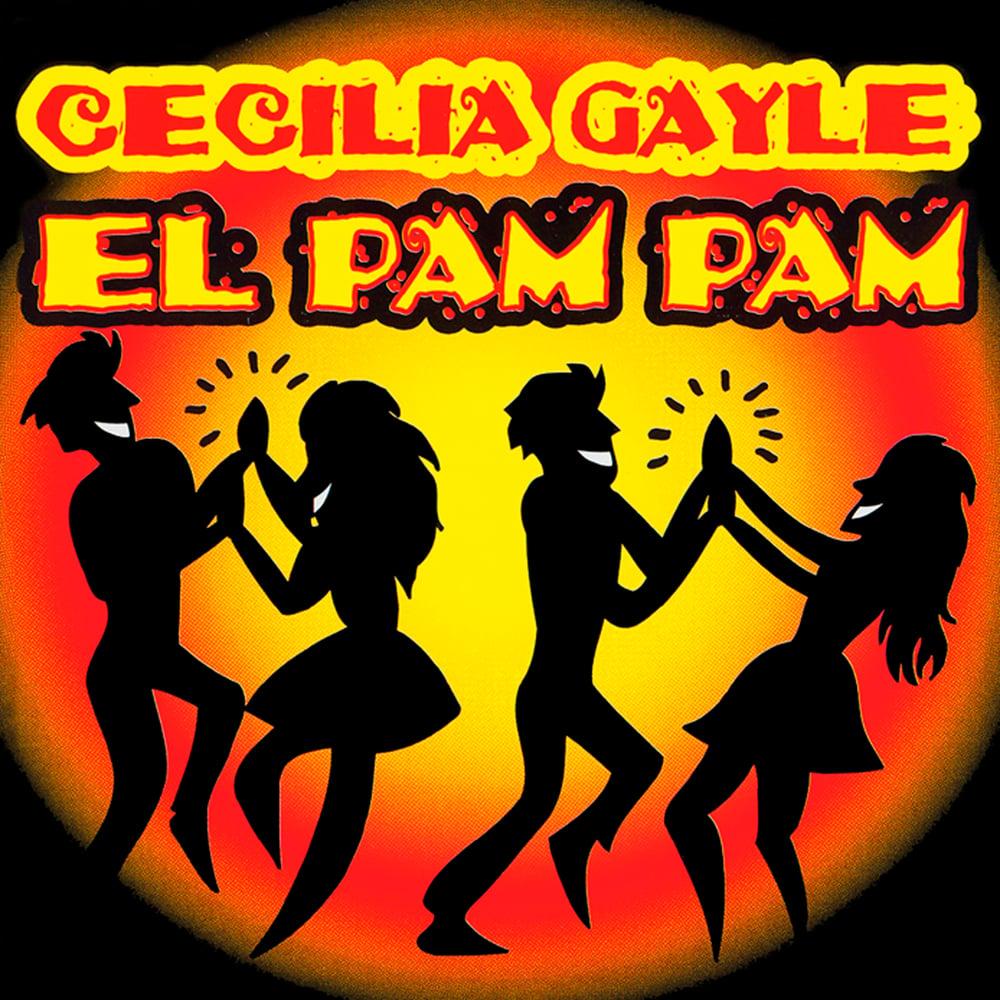 SAI10013 // CECILIA GAYLE - EL PAM PAM (VINILE COLORATO ROSSO TRASPARENTE45 GIRI)