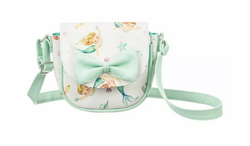 Image of MERMAID BOW BAG - CAN BE PERSONALISED