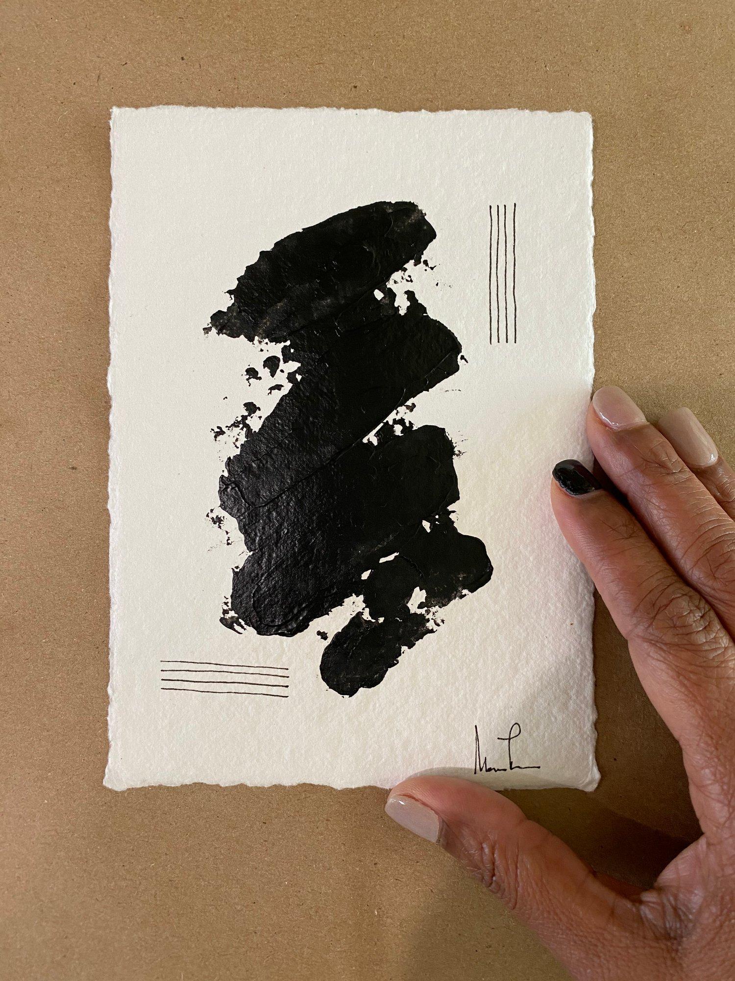 Image of Black Tie Cotton Rag (22)