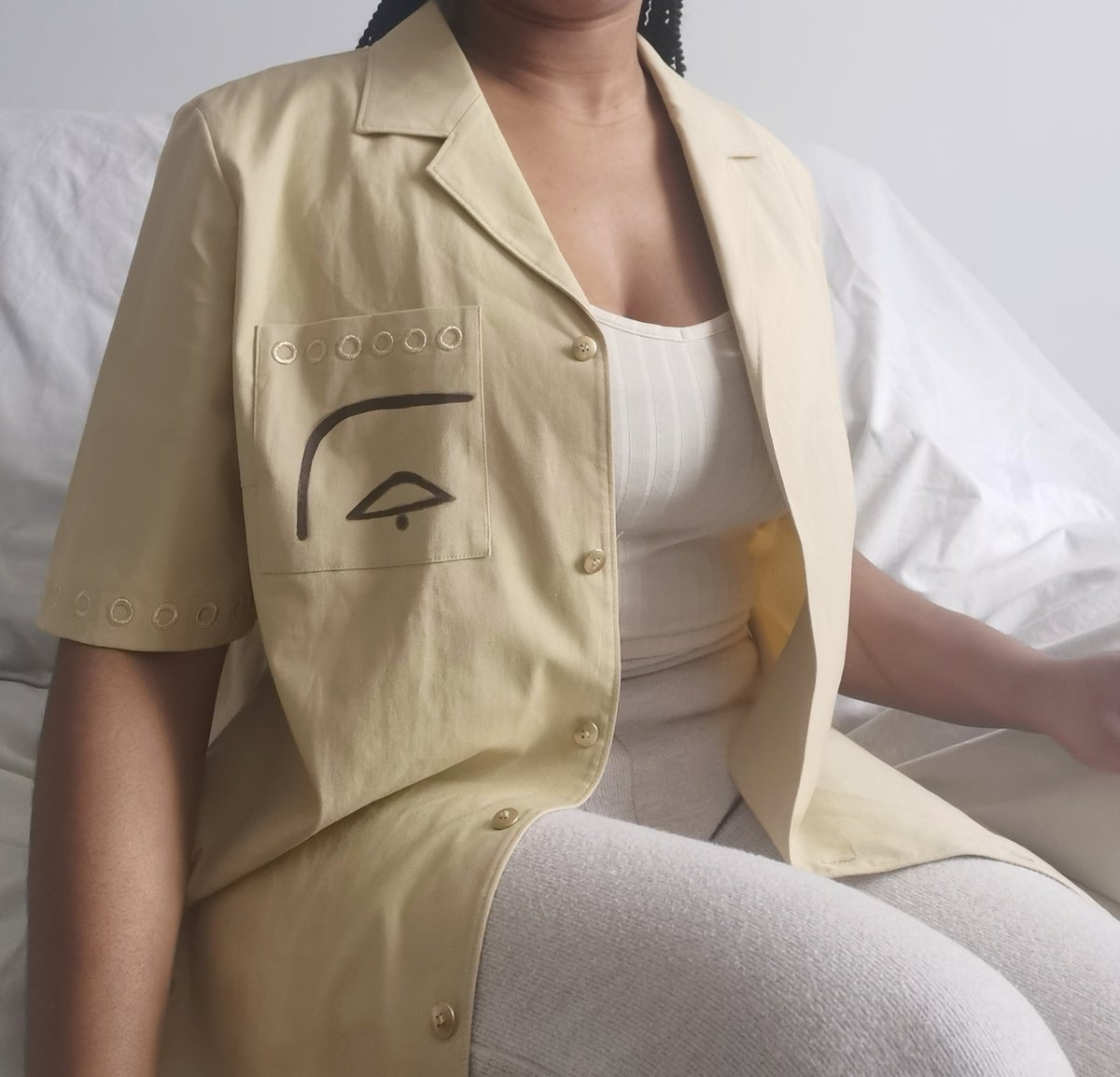 Image of cornmeal shirt