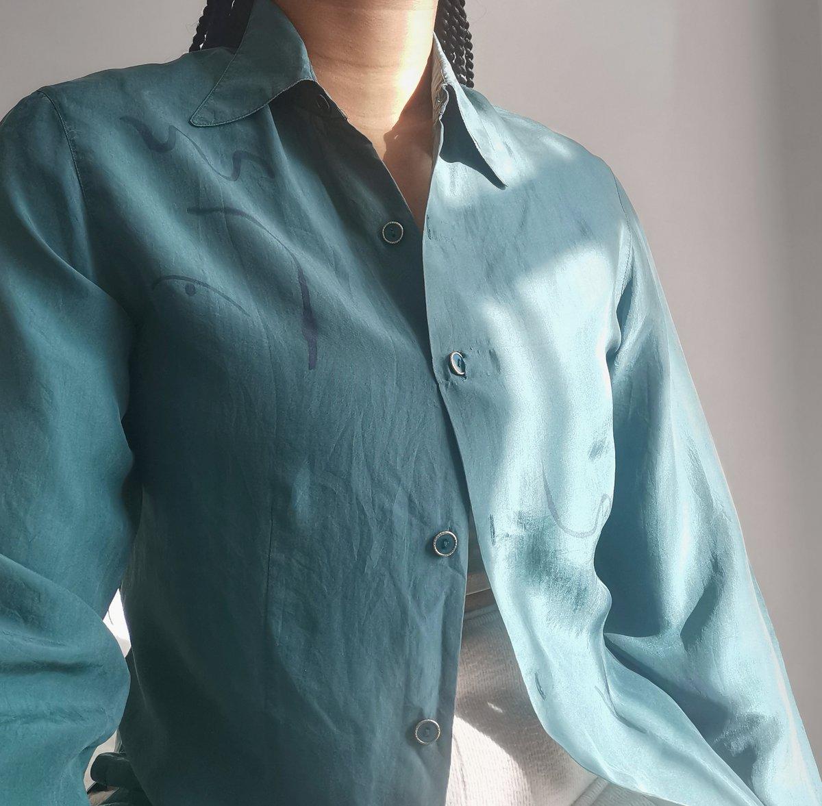 Image of   green ting shirt