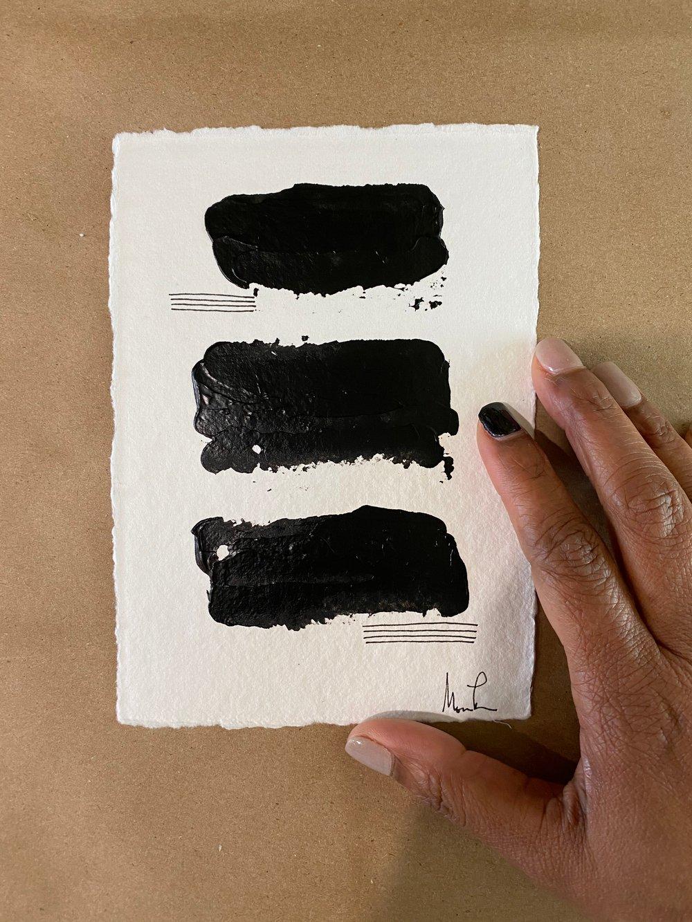 Image of Black Tie Cotton Rag (28)
