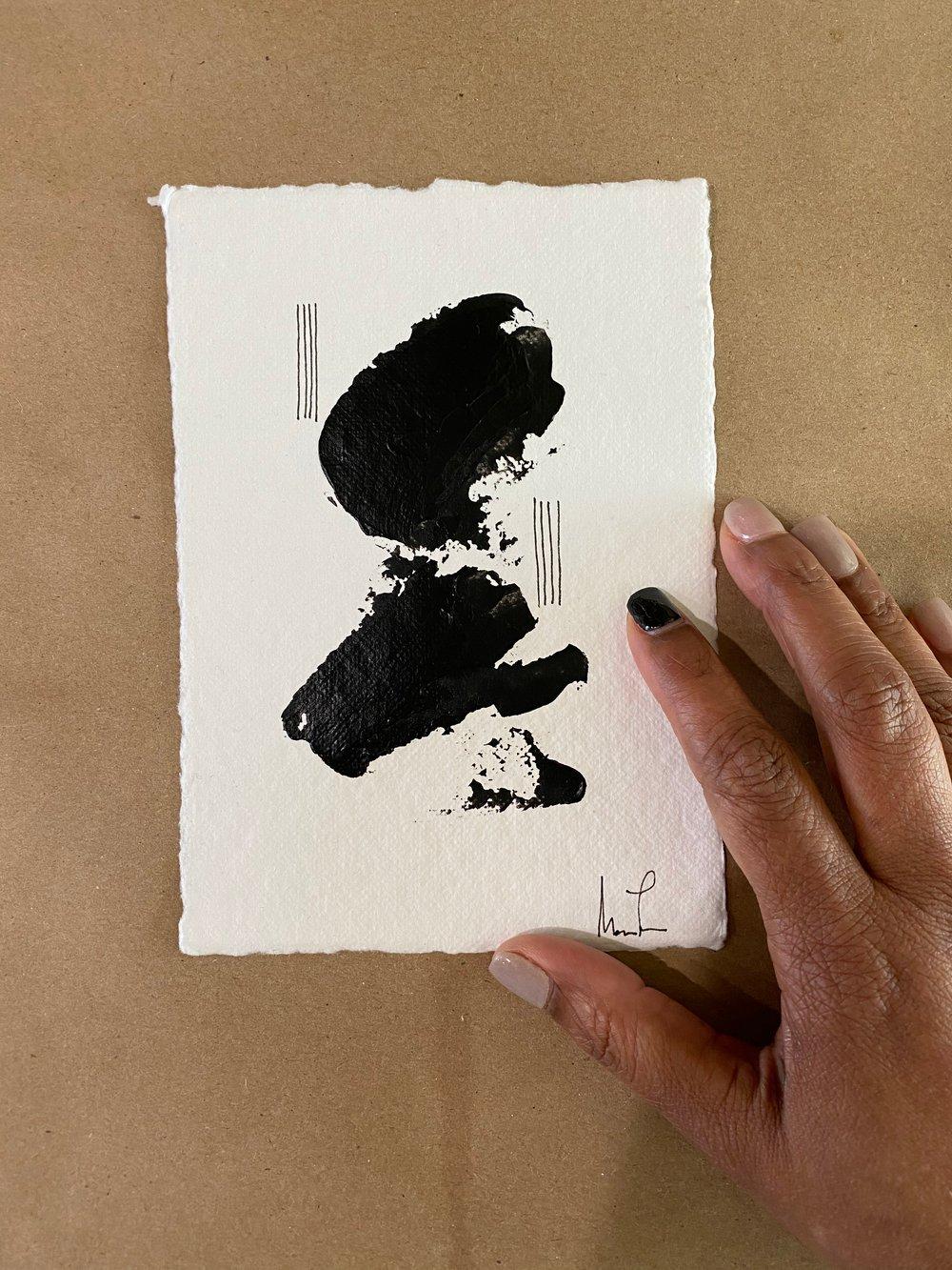 Image of Black Tie Cotton Rag (29)