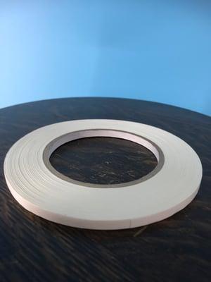 "Image of Burlington Recording 1/4"" x 180' PRO White Console/ Artist Tape on Hub"