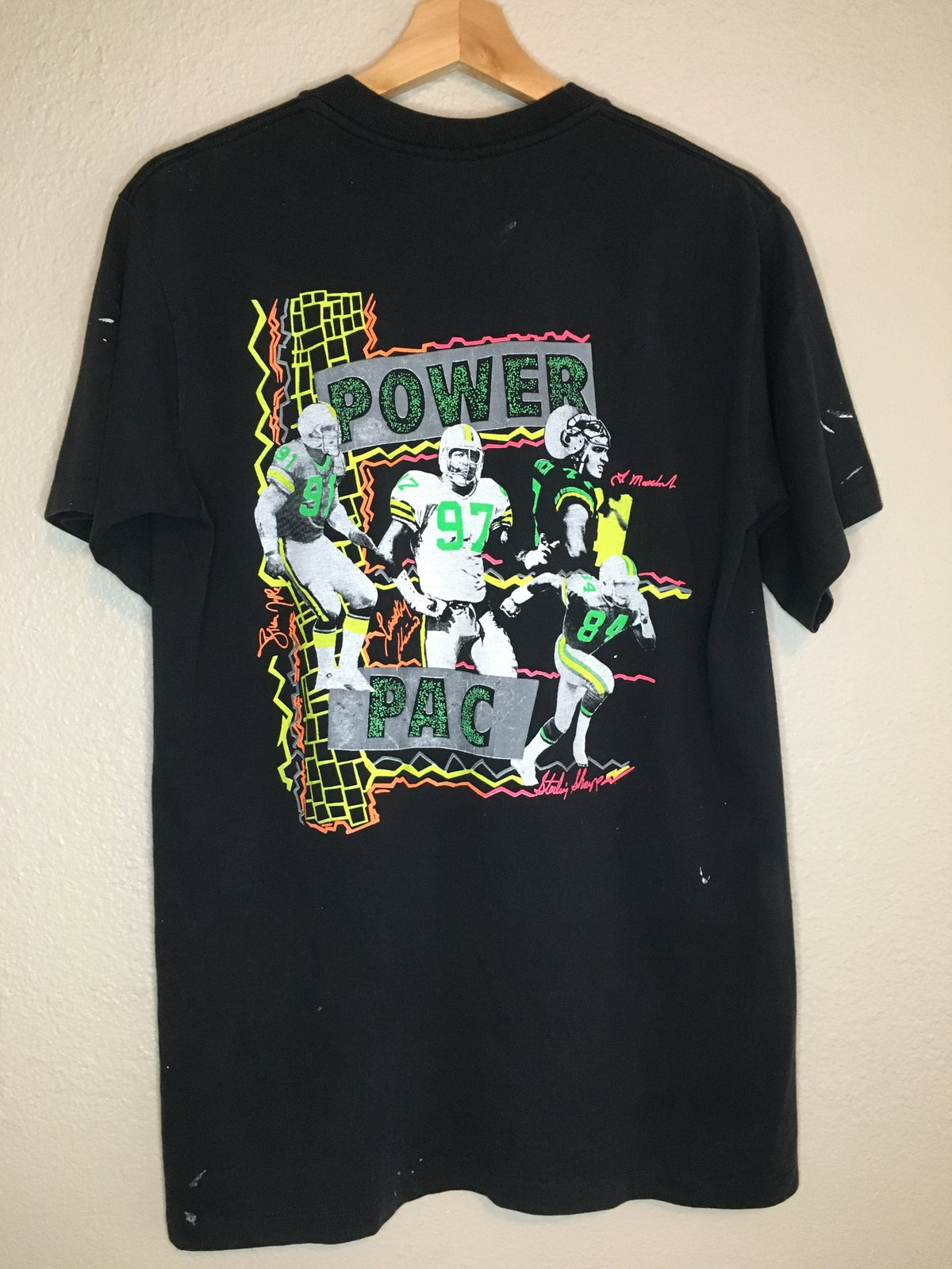 1992 Green Bay Packers Power Pac Tee