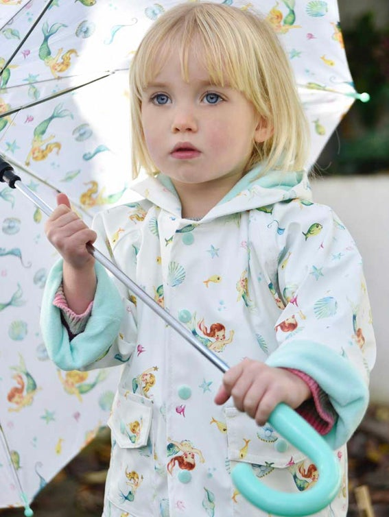 Image of MERMAID RAINCOAT (can be personalised)