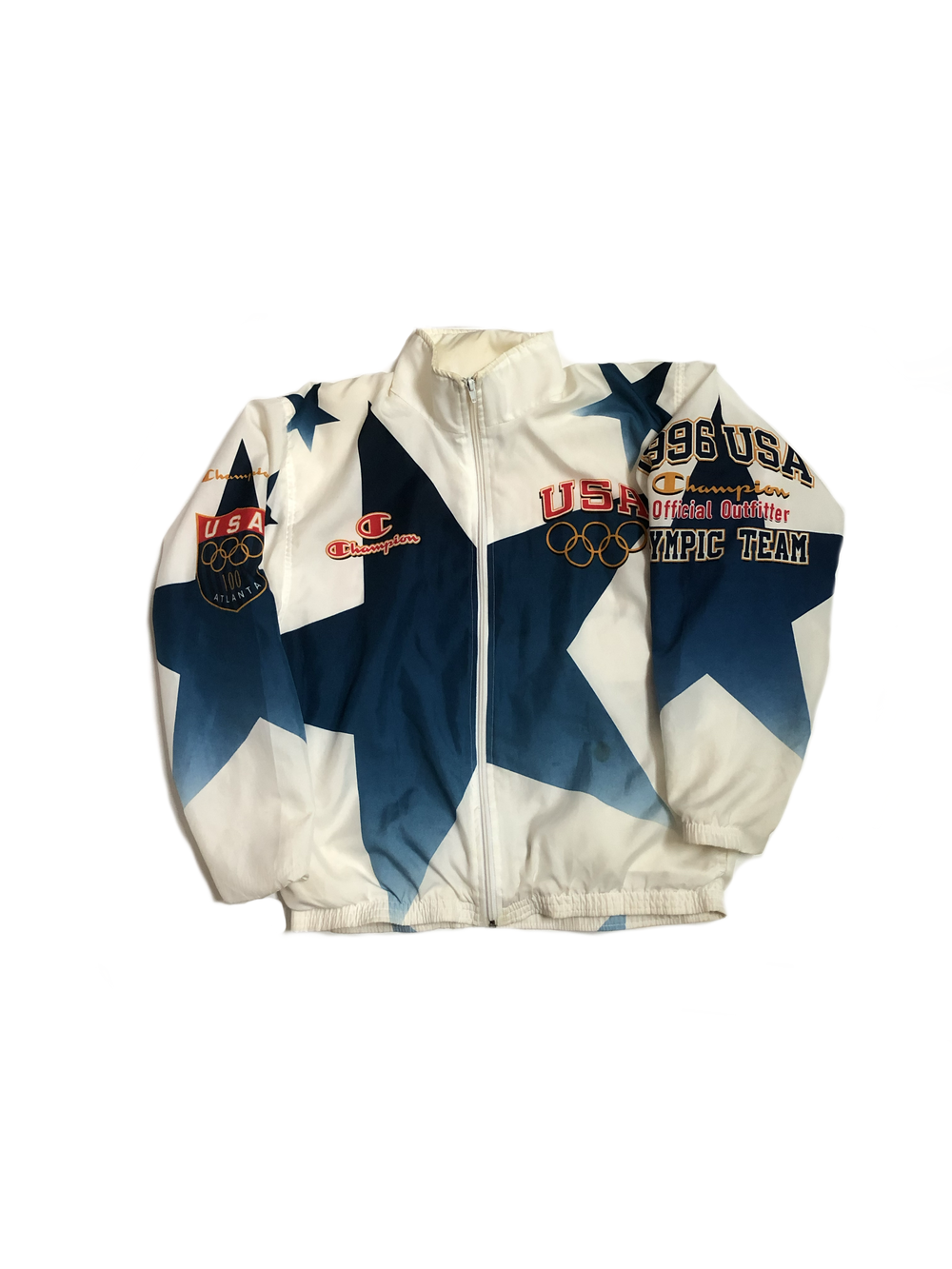 Image of Champion Atlanta 1996 Olympic Windbreaker