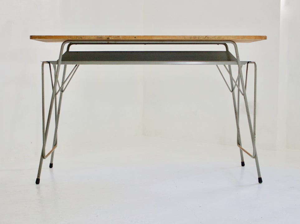 Image of Large Writing Desk by Willy Van Der Meeren, 1950s