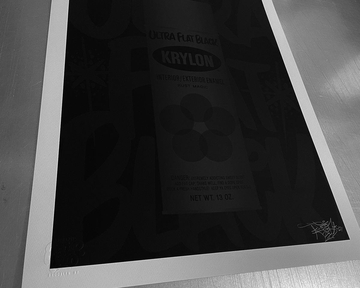 Image of Krylon • Ultra Flat Back - Archival Print