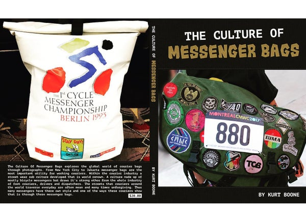 Image of The Culture of Messenger Bags 1 and 2 with We Run The City Patch