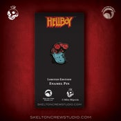 Image of Hellboy/B.P.R.D.: Limited Edition Masked Hellboy charity pin!