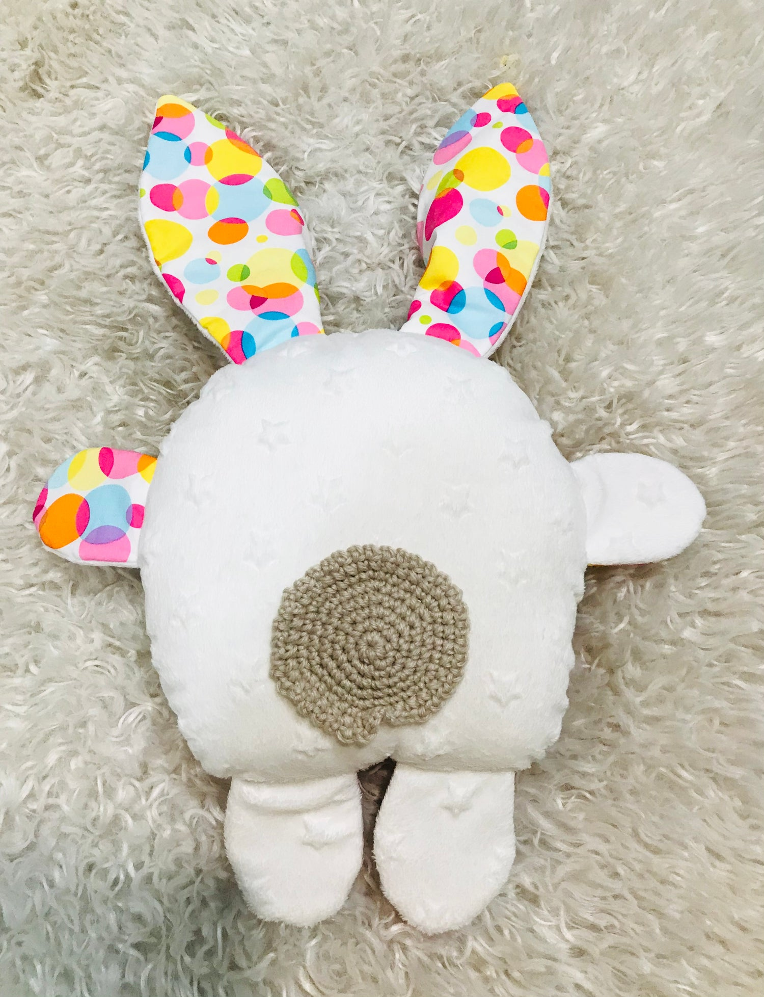 Image of Bubbles the Funny Bunny Soft Toy