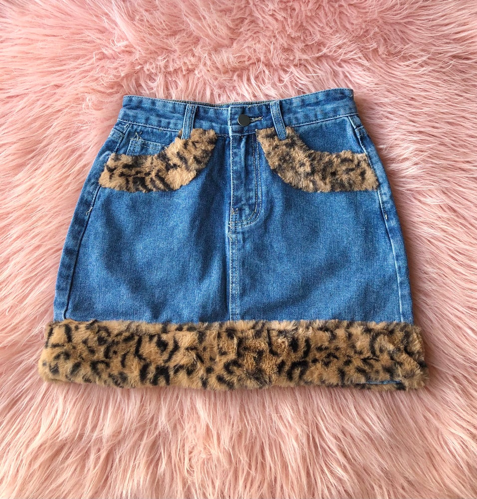 Image of Riley Cheetah Skirt