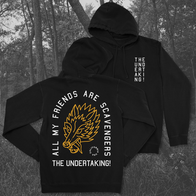 Image of Scavengers Pull Over Hoodie Pre-Order