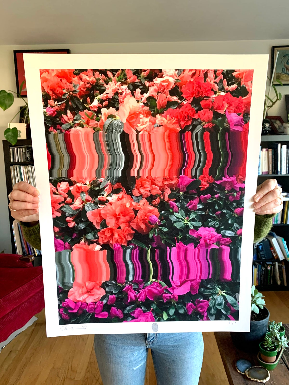 Image of Flowers Against Humanity 005 Limited Edition Giclee Fine Art Print