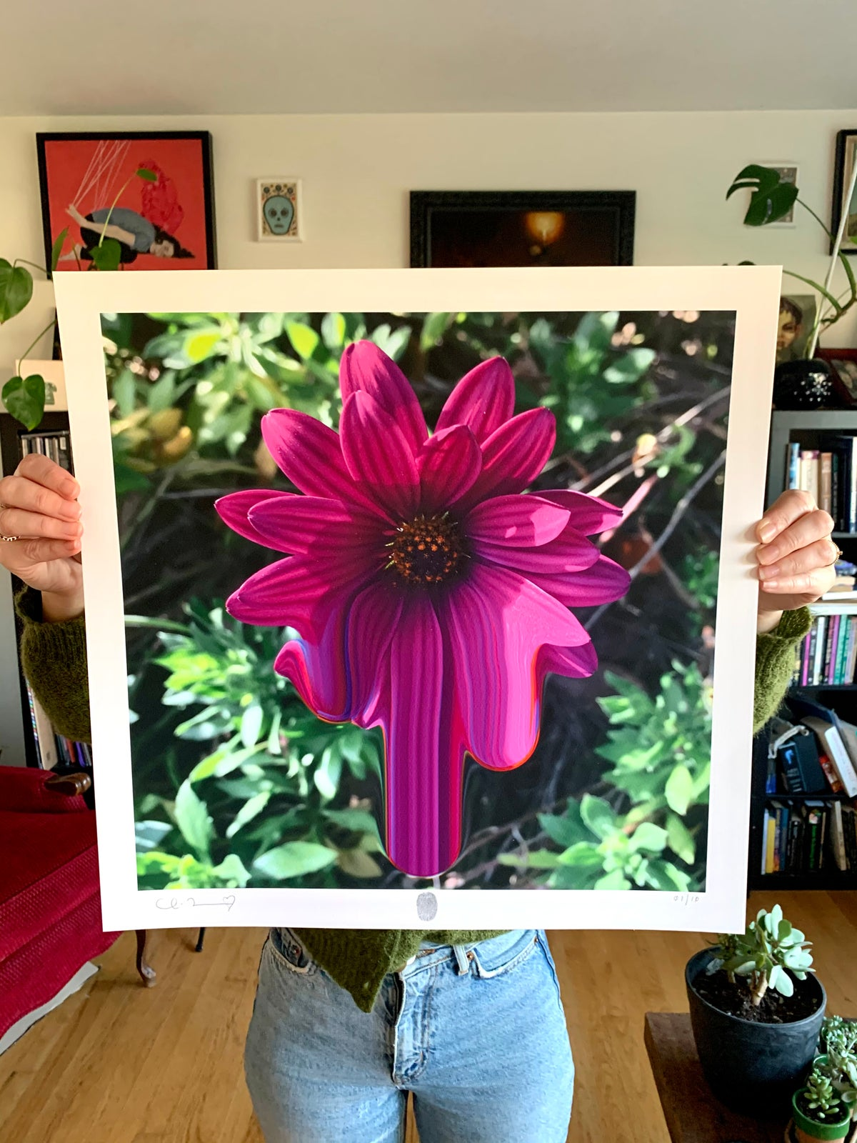Image of Flowers Against Humanity 004 Limited Edition Giclee Fine Art Print