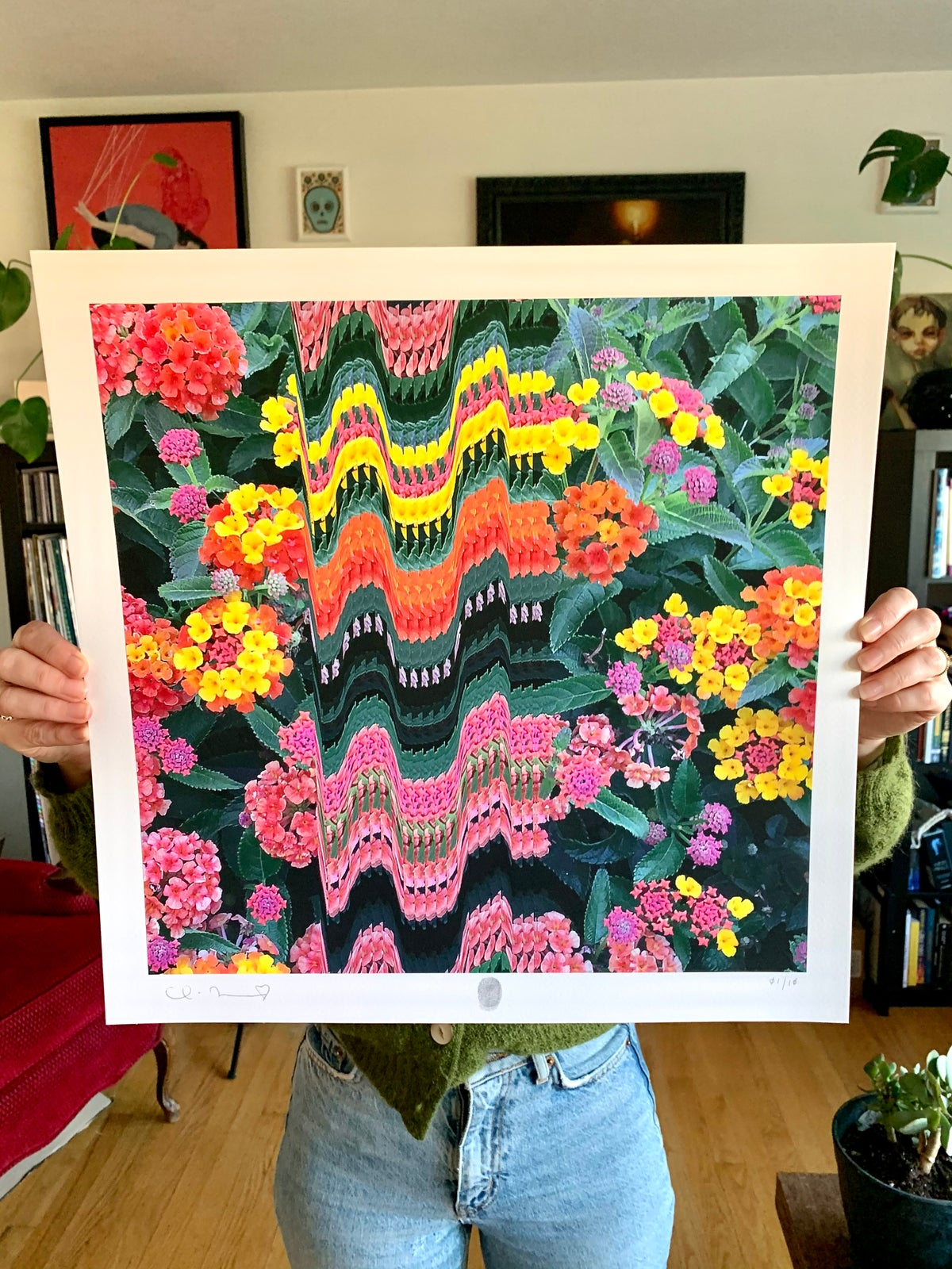Image of Flowers Against Humanity 003 Limited Edition Giclee Fine Art Print