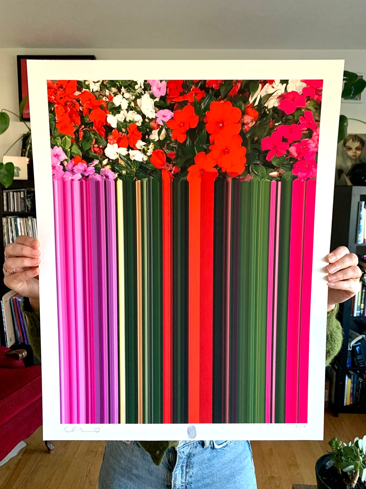 Image of Flowers Against Humanity 002 Limited Edition Giclee Fine Art Print