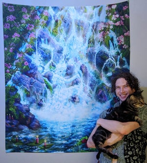 Image of Waterfall Spirits [Tapestries, Prints, Canvas]