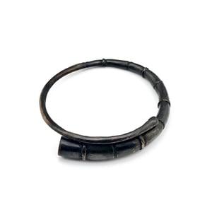 Image of Black Tendril Bangle Bracelet 08