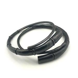 Image of Black Tendril Bangle Bracelet set 1