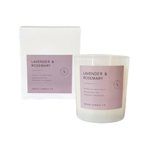 Image of  LAVENDER & ROSEMARY Candle / Large