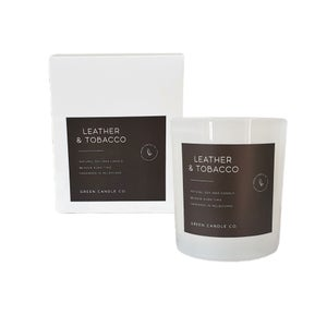 Image of LEATHER & TOBACCO Candle / Large