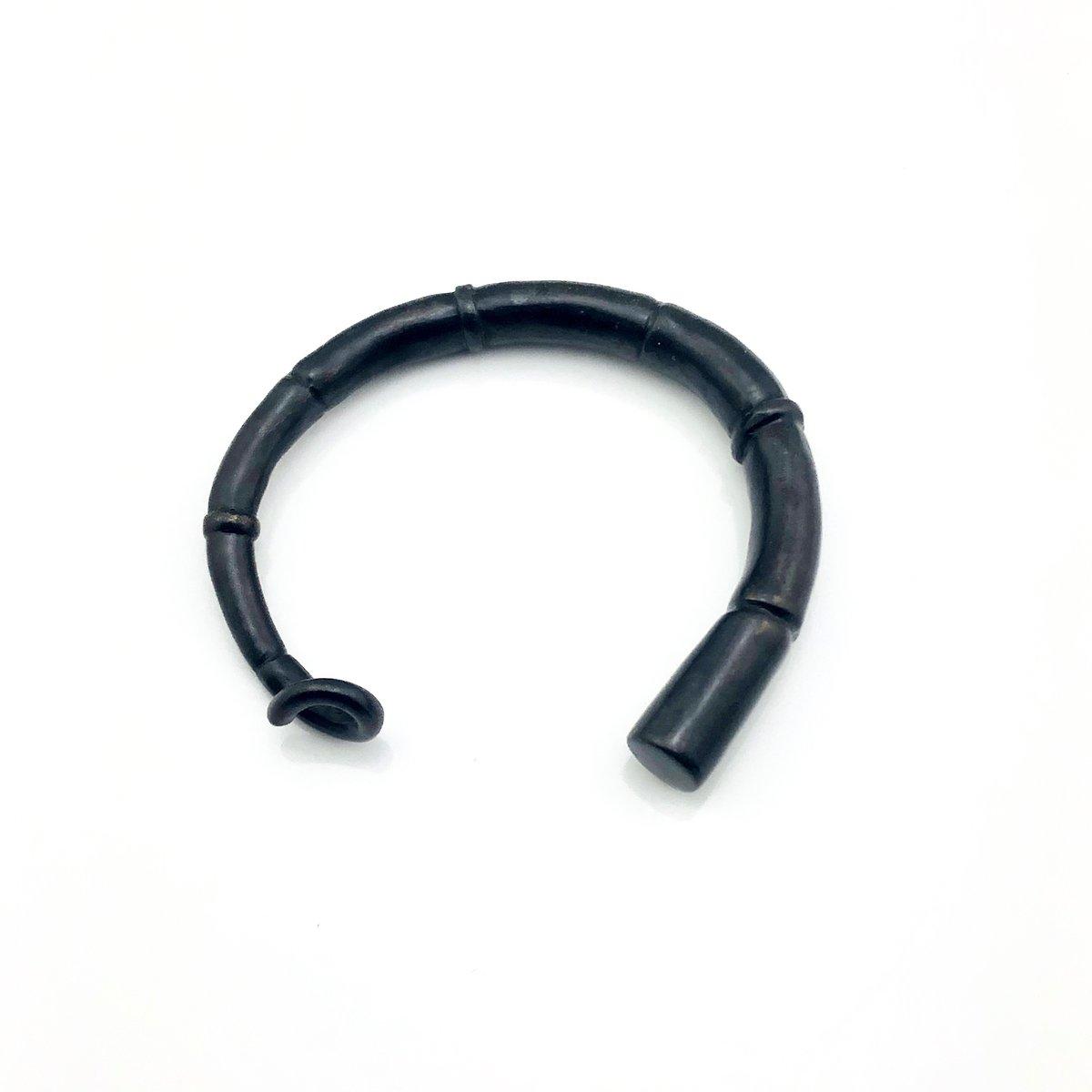Image of Black Tendril Cuff Bracelet 03