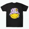 Acid Smiley Doodle Purple Ohm Edition T Shirt