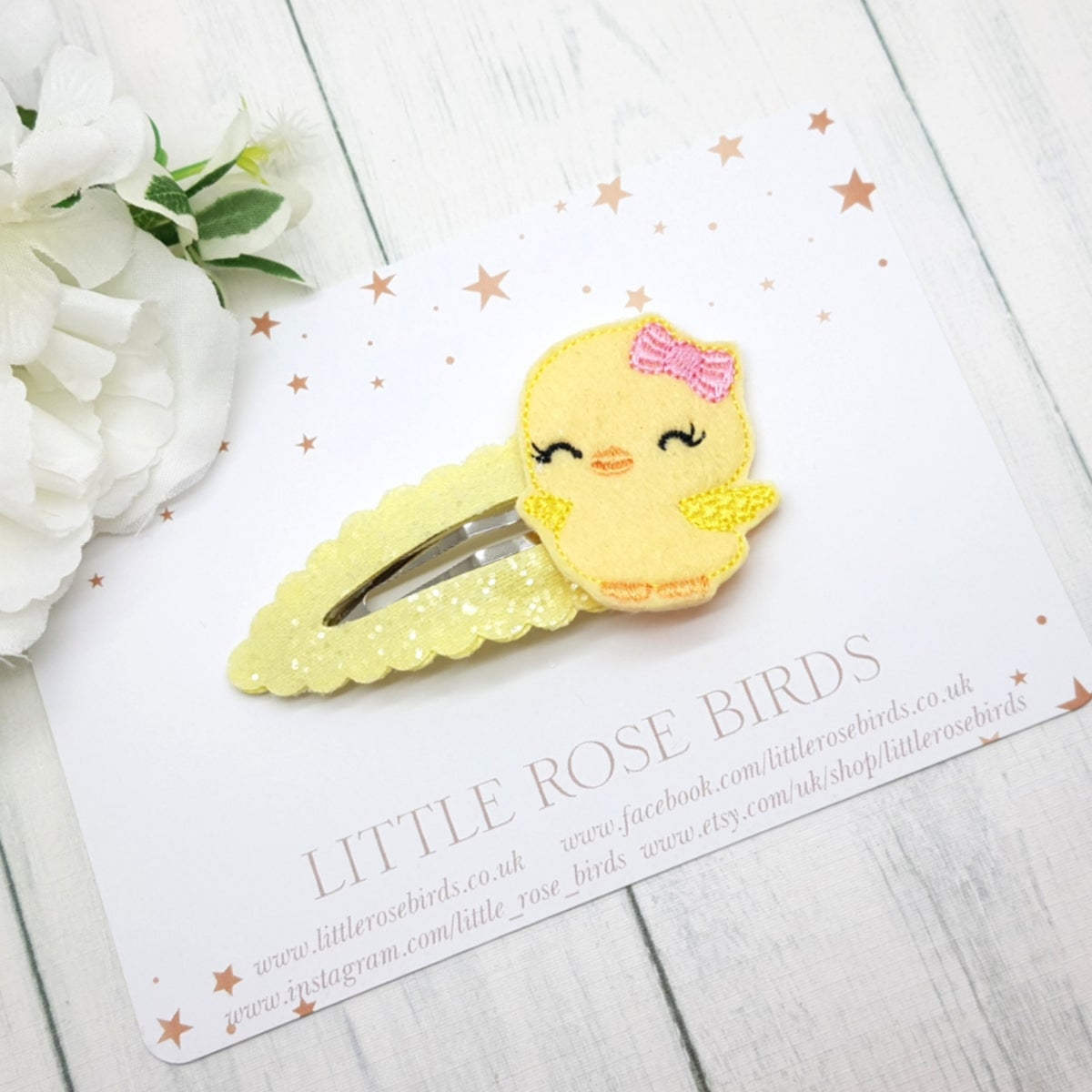 Image of Easter Chick Snap Clip