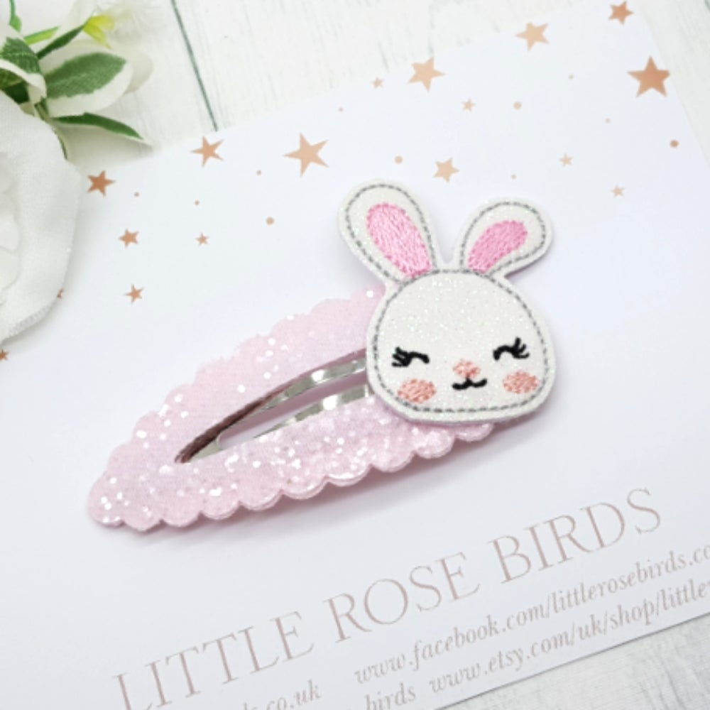 Image of Easter Bunny Snap Clip