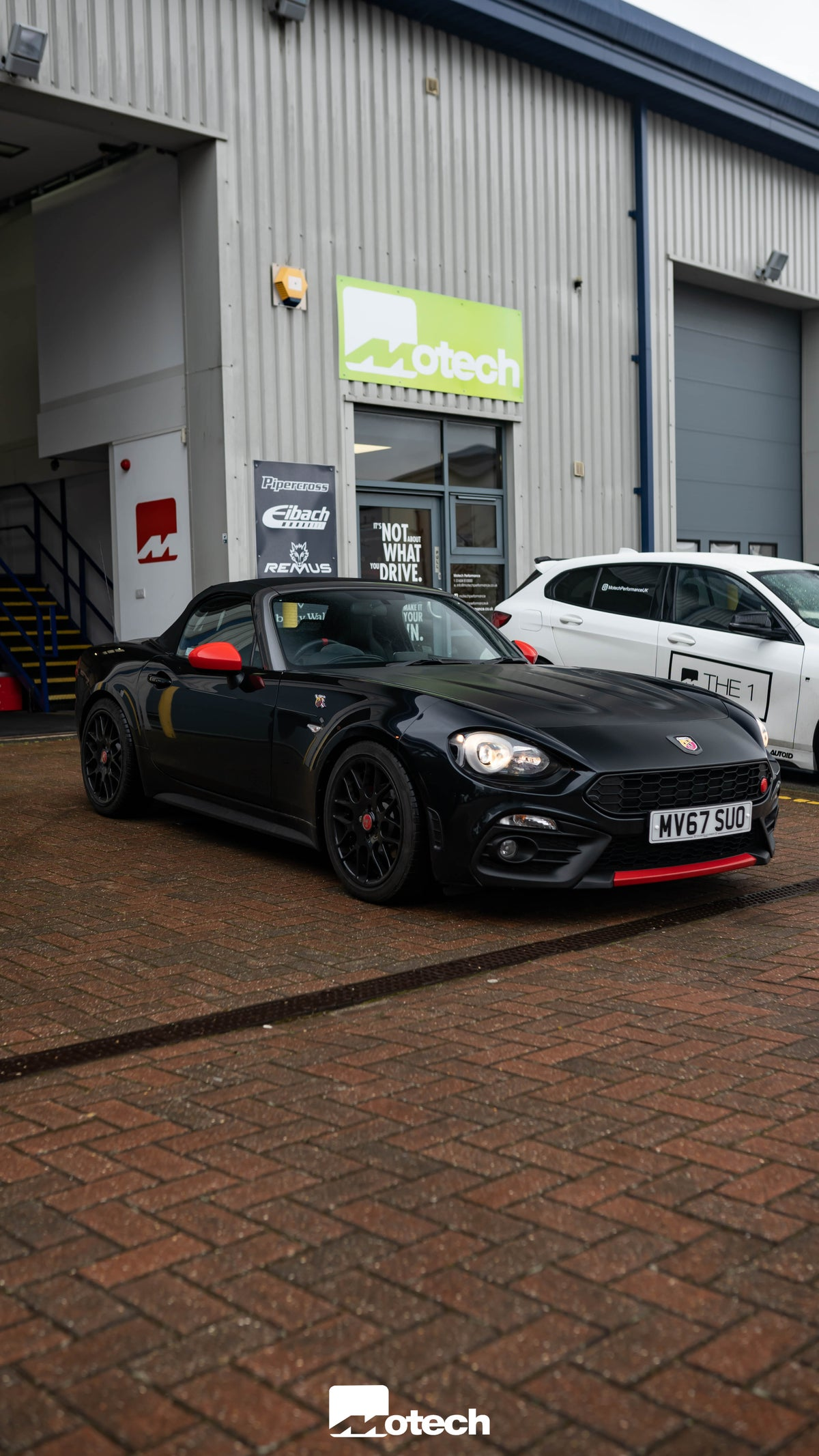 Image of Fiat Abarth 124 Spider Eibach Lowering Springs