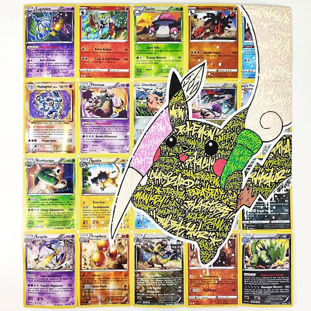 Image of Pikachu Graffiti Booster
